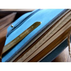 VINTAGE MIDI NOTEBOOK - BLUE