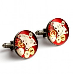 SPINKI - STEAM DREAM OLD SILVER - RED