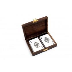 2 x TALIA KART w Pudełku z palisandru