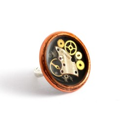 RING - COPPER - BLACK