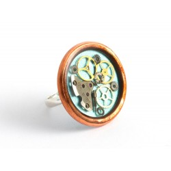 RING - COPPER - TURQUOISE