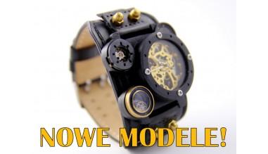 Nowe modele ręcznie robionych zegarków naręcznych - już w ofercie!
