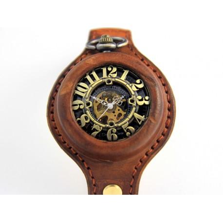 DC 004 - BE ON TIME WRIST BROWN II