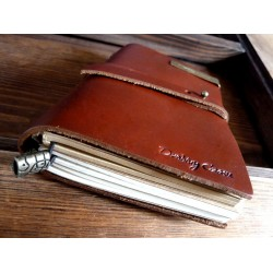 VINTAGE MIDI NOTEBOOK - RED