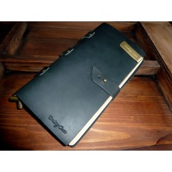 VINTAGE NOTEBOOK - BLACK