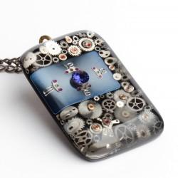 A SPARKLE DIAMOND - NAVY