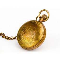 Zegarek na łańcuszku - LOKOMOTYWA CZASU