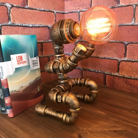 INDUSTRIAL LAMP - UNBROKEN