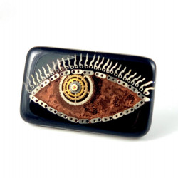 Broszka - THIRD EYE BROWN (BLACK)