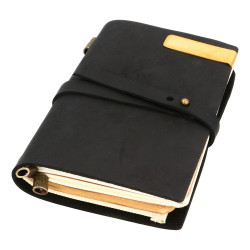 VINTAGE MIDI NOTEBOOK - BLACK