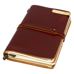 VINTAGE NOTEBOOK - RED + AKCESORIA
