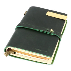 VINTAGE MIDI NOTEBOOK - GREEN