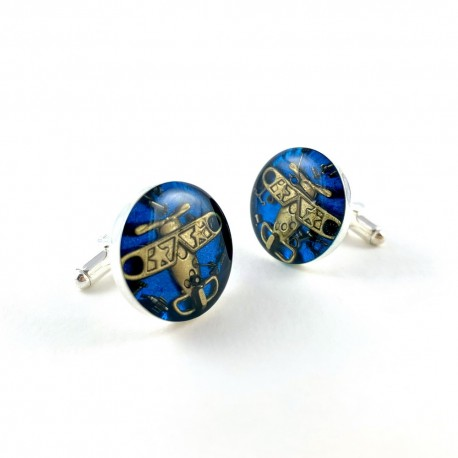 SPINKI - AVIATOR GOLDEN (BLUE)