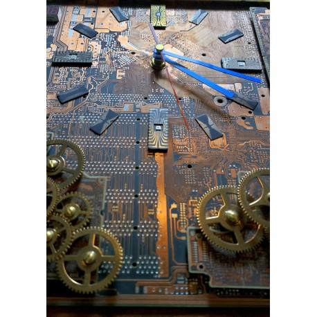 WALL-MACHINE - CLOCK WALL 3D - IV