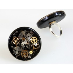 ROUND RING II - BLACK