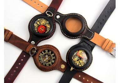 Sam zaprojektuj swój zegarek naręczny na ręcznie szytej skórze